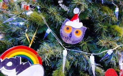 WOW Said the Owl, It's Christmas!